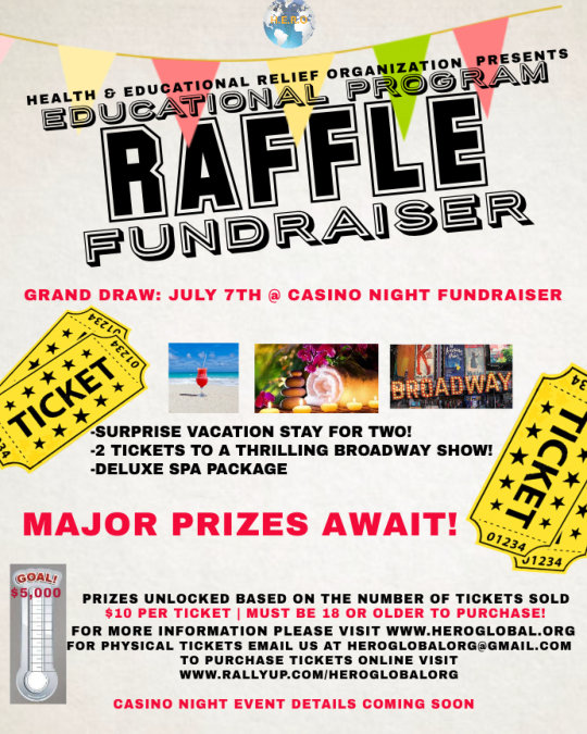 H.E.R.O. Educational Program Raffle Fundraiser